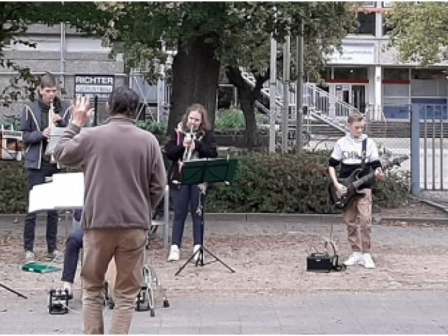 """""""Bläserprojekt 2021"""" in Kooperation mit der Musikschule Langenhagen"""